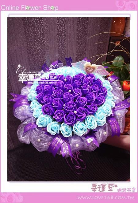 香氛玫瑰花束K0405
