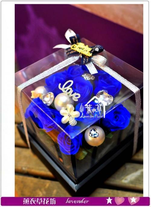 香氛玫瑰花盒~免運特賣中c050239