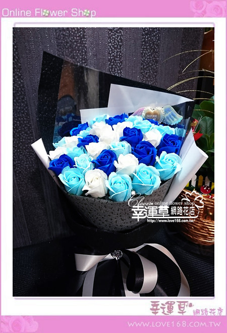 香氛玫瑰花束K0420