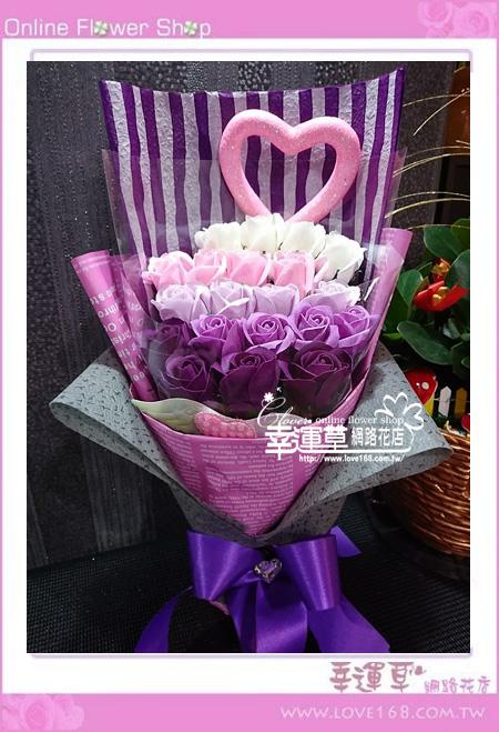 香氛玫瑰花束K0417