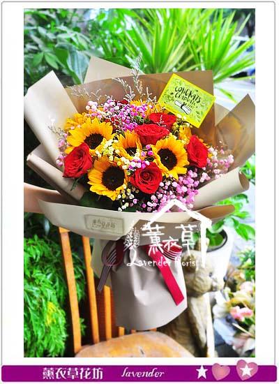 向日葵花束 106060207