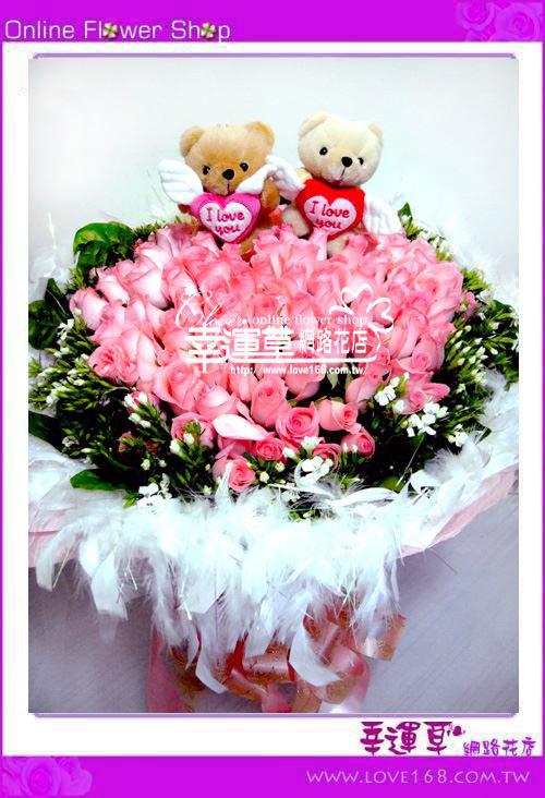 A16優質花束111朵