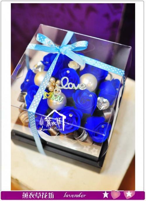 香氛玫瑰花盒~免運特惠中c050237