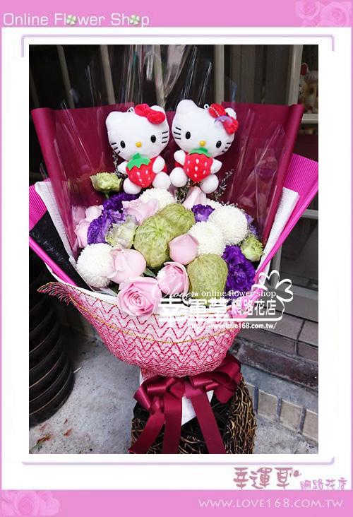 玫瑰花束A0317