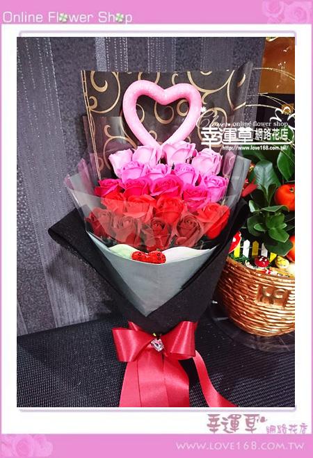 香氛玫瑰花束K0416
