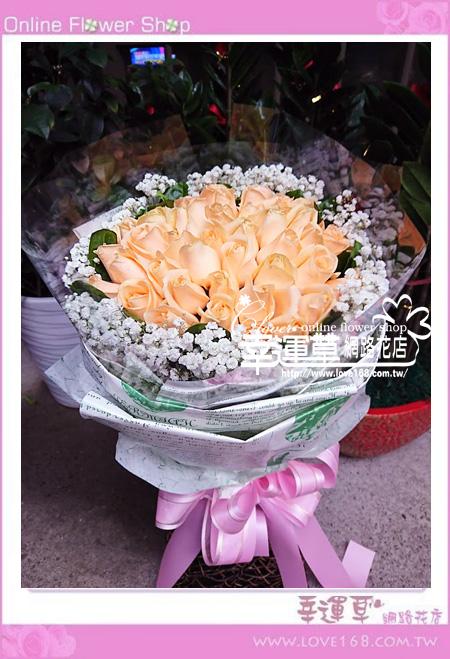 玫瑰花束52 A0328