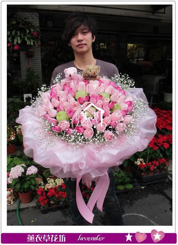 玫瑰99朵花束b112728