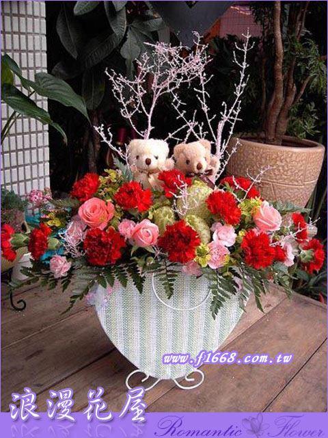 F06造型盆花