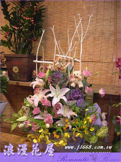 F11豪華盆花
