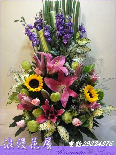 F29精緻盆花