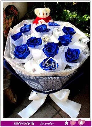 藍玫瑰限定款~不凋花新登場bb112001