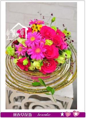 架構式盆花設計B112705