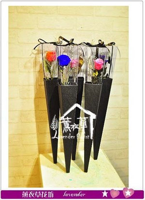 玫瑰不凋花~單枝花盒~ 106060716