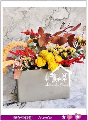 乾燥花設計 106112008