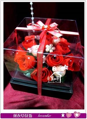 香氛玫瑰花盒~免運特賣中c050217