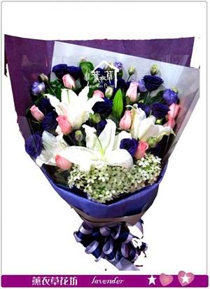 百合花束設計b121311