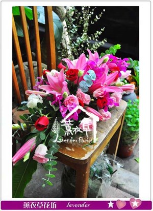 會議桌盆花 106112401