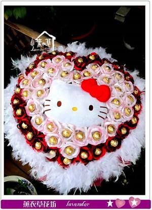 凱蒂貓花束c071027