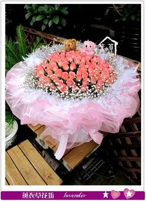 粉玫瑰99朵c062426