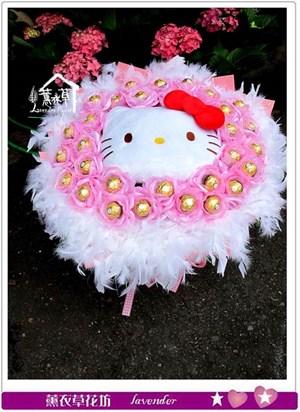 金凱蒂貓莎花束c060107