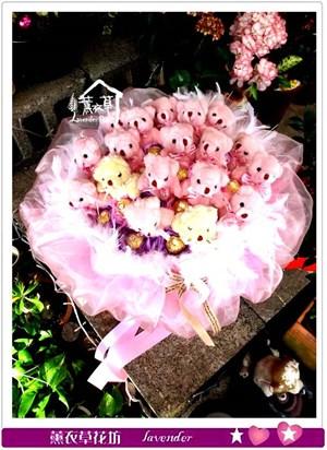 熊熊花束c010201