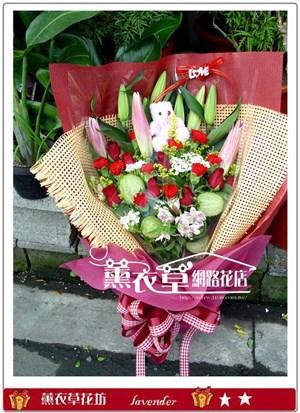 母親節花束y4327
