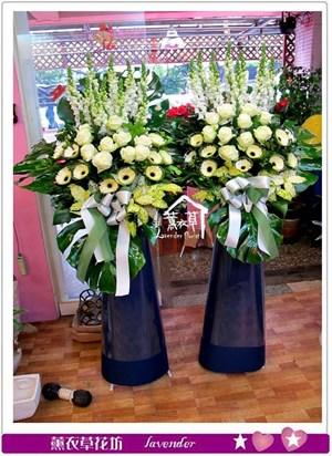 歐式花藍設計一對b121401