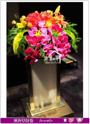 講台花盆花a072104