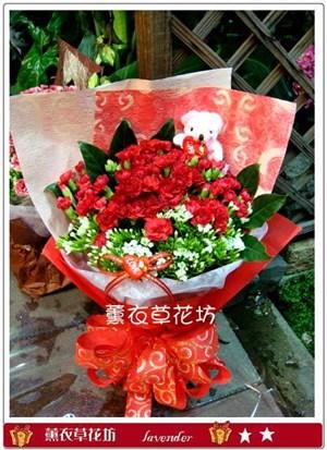 母親節花束G919