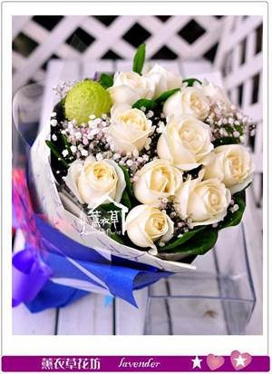 玫瑰11朵花束c111520