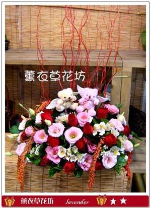 甜蜜盆花設計F196