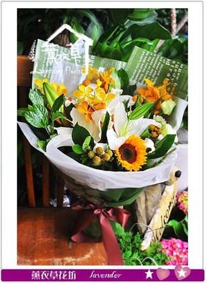精緻花束106052517