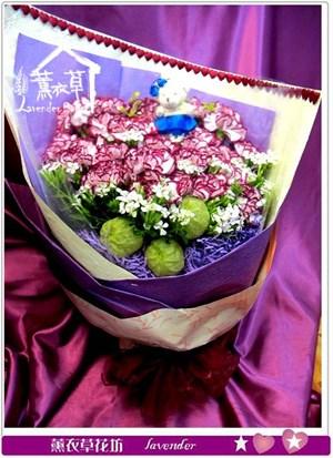 進口康乃馨花束33朵y435690