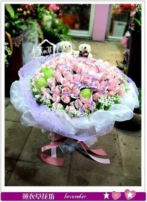 粉玫瑰99朵c051220