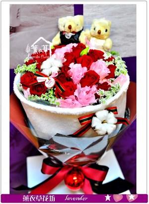 玫瑰花束c123130