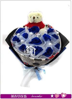 藍玫瑰~不凋花c030528