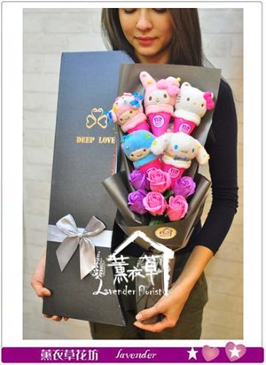 歐式花盒~玩偶 系列106011114