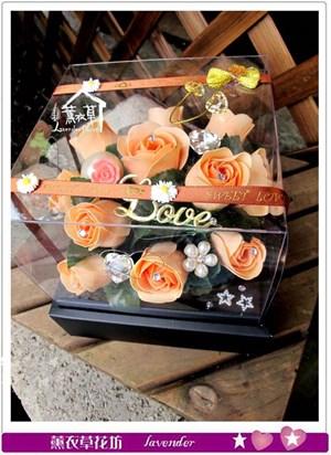 香氛玫瑰花盒~免運特賣中c052527