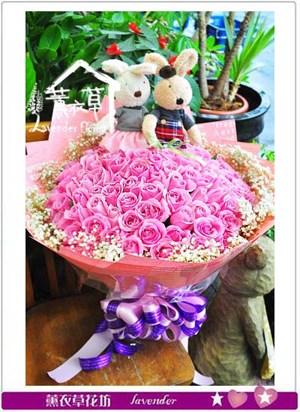 99朵紫玫瑰 106041603