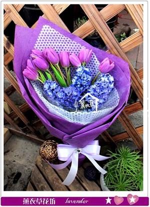 鬱金香花束c040736