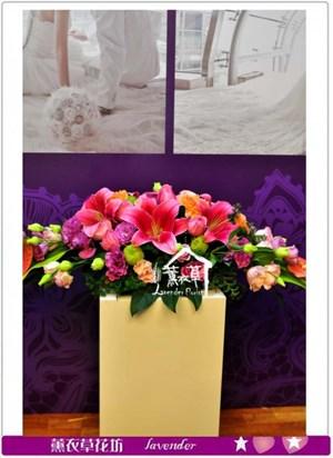 會議桌盆花設計c123003