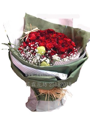 玫瑰花束G166