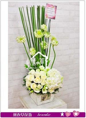 典雅盆花設計B112402