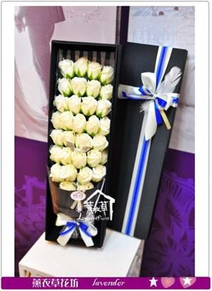 歐式香氛花盒-大朵~花盒隨機a071236