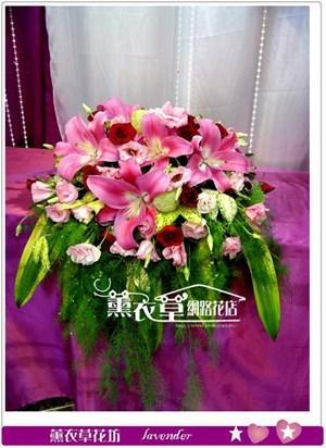 講台花設計y32995