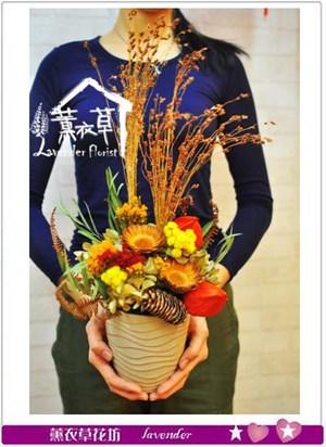 乾燥花設計新品 特價106011009