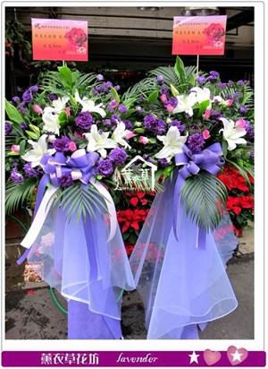 藝術花藍一對b112729