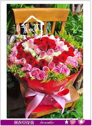 99朵玫瑰花束 106052002