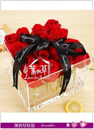 9朵玫瑰花盒 設計106063015