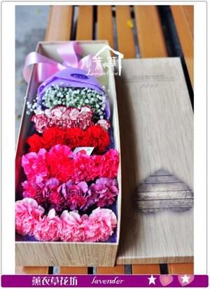 歐式花盒~康乃馨b043002